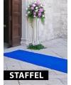 Blauwe versiering lopers laagste prijs
