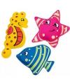 Gekleurde water duikdiertjes 3 stuks