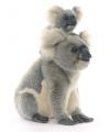 Pluche koala moeder met baby 60 cm
