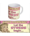 Grote beker Goedemorgen