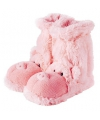 Fun for feet pantoffel sokken roze varken