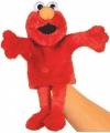 Pluche handpop Elmo 35 cm