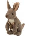 Knuffel kangoeroes 20 cm