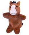 Paard poppenkast poppen 28 cm