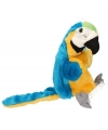 Blauwe papegaaien handpoppen