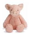 Varkens knuffel roze 19 cm