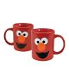 Sesamstraat Elmo koffie bekers